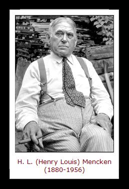 H.L. Mencken[3]